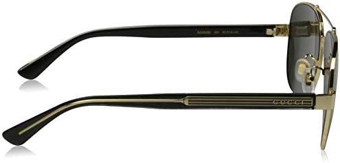 サングラス ティアドロップ ブラック GUC-GG-0528S-001