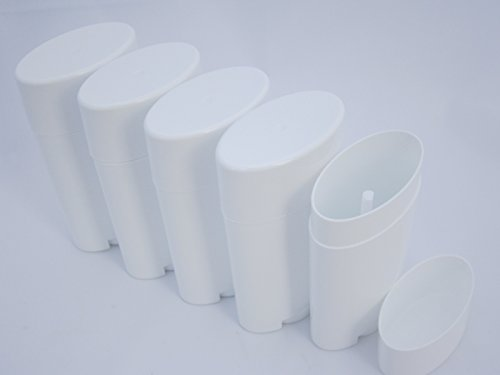 New Refillable (DMtse Deodorant Containers, New & Empty; Pack of 5)
