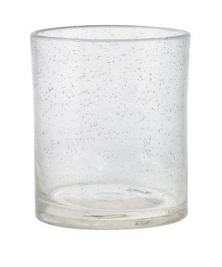 Glass Bubble Clear (Pack of 6 Tag Bubble Double Old Fashioned Glasses, 15 Oz, Clear)