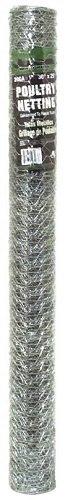Jackson Wire 1X36''X25' 20Ga Poultry Netting 12011916