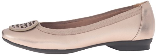Clarks Women's Candra Blush Flat, Gold/Metallic, 10 M US by CLARKS (Image #5)