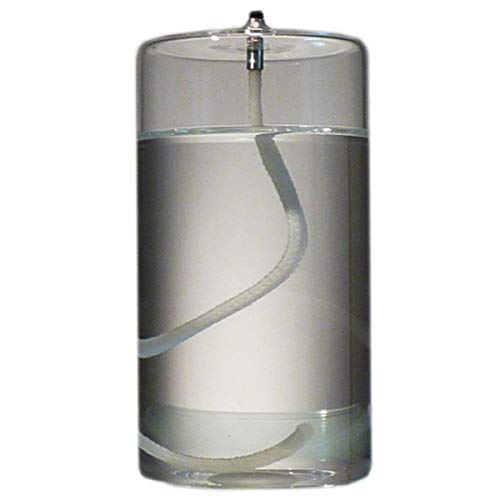 (Firefly 5-Inch Refillable Glass Pillar Candle - Liquid Candles are The Latest Trend in Candle Lighting)
