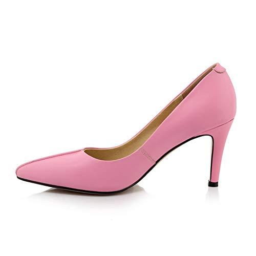 Compensées AdeeSu 36 Femme Rose Rose Sandales SDC06061 EU 5 fxqRxE4
