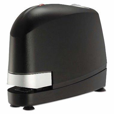 Electric Desk Stapler, 45 Sheet Capacity, Black
