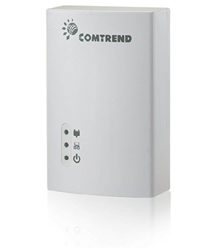Comtrend AV200 200 Mbps Powerline Ethernet Bridge Adapter PG-9141S (1-Unit) by Comtrend