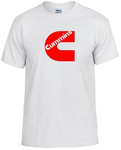 cummins-t-shirt-diesel-fan-shirt-red-design-mens-white-x-large