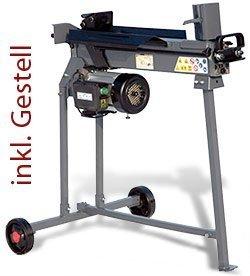 STAHLMANN® Holzspalter 7 Tonnen / 520mm liegend (inkl. Spaltkreuz und Tisch!) mit stufenlos verstellbaren Spaltweg bis max. 520 mm! TÜV/CE zertifiziert!