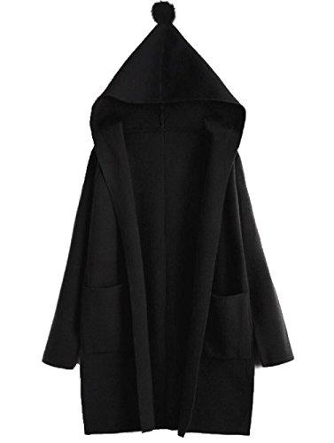 Taille Albawear Rouge Gilet Noir Unique Femme Red rUwU4IBx