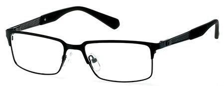 Guess Men's Eyeglasses GU1861 GU/1861 002 Black Full Rim Optical Frame - Glasses Prescription Guess