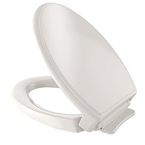 - TOTO SS154#12 Traditional SoftClose Elongated Toilet Seat, Sedona Beige