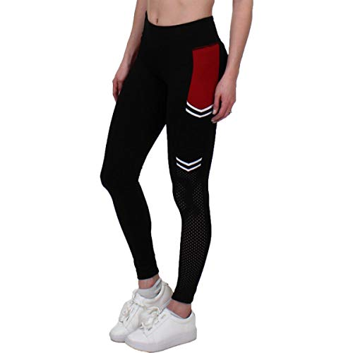 Jessica Simpson The Warm Up Womens Yoga Side Pocket Athletic Leggings Black - Up Pant Warm Ladies