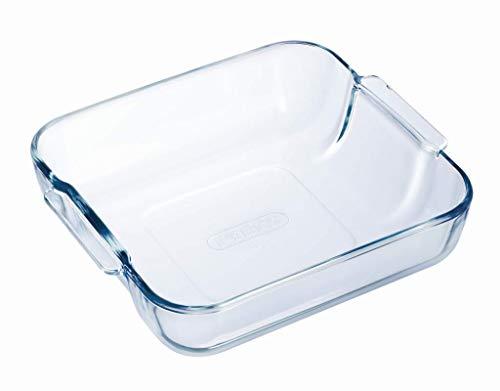 Pyrex Borosilicate Glass Square Roaster, ()
