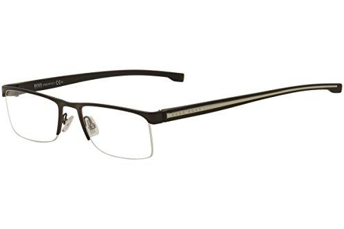 Eyeglasses Boss Black Boss 878 00J3 Matte - Glasses Rimless Boss Hugo