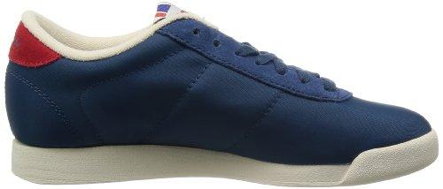 Reebok Schuhe Princess Vintage Inspired Damen blue-red-sandtrap (V55110), 39, blau