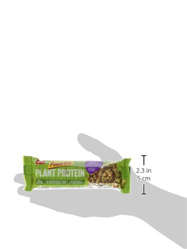 PowerBar Plant Protein Bar, Dark Chocolate Salted Caramel Cashew, 15 Count, Pack of 1 by Powerbar (Image #8)