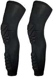 Rungear Knee Pads Compression Leg Sleeve Calf Shin Support Protector Gear Sprots Brace for Men Women Volleybal