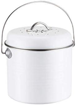Kasfam 5L Compost Filtro de Canasta de Cocina Filtro Filtro Cubos ...