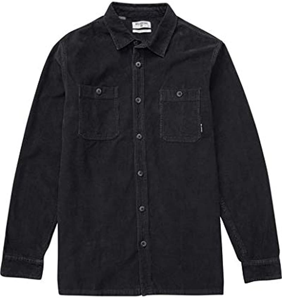 Billabong Mens Wave Washed Cord Shirt, Black, XL: Amazon.es: Ropa y accesorios