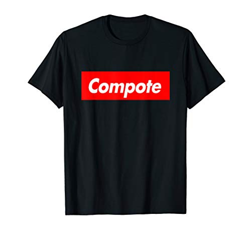Compote Parody Box Logo Style Funny T-Shirt