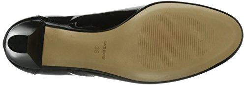 Evita Shoes Pumps Geschlossen, Scarpe col tacco punta chiusa Donna Nero (Schwarz (Schwarz)