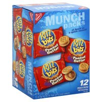 Ritz Bits Peanut Butter Sandwich Crackers 12 Snack Packs, 1 oz. ea., 12 oz. net (Butter Peanut Bits Ritz)