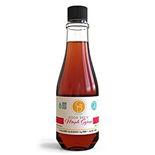 Good Dee's Maple Flavored Syrup - Allulose Sweetened, Low Carb, Keto Friendly, Diabetic Friendly, Sugar Free, Gluten Free, No Sugar Alcohols, Less Than 1g Net Carbs