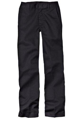 Dickies Little Boys' Classic Flat Front Pant,Khaki,4 Slim