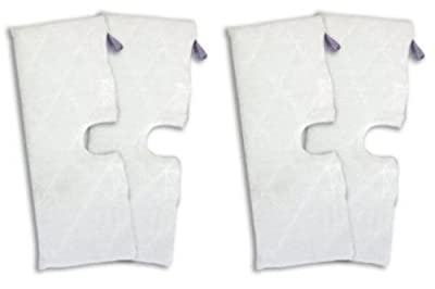 1 X Shark XLT3501 (EXTRA LARGE), Set of 4, Microfiber Cleaning Pads for the Steam Pocket Mop.
