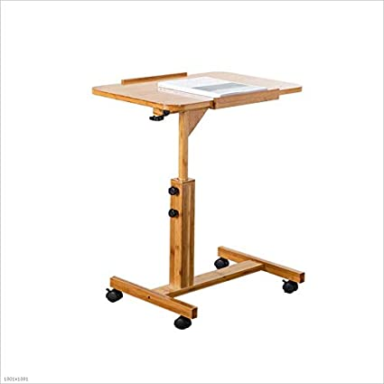 Altezza Tavolo Ufficio.Arredamento Tavolini Scrivania Housewares Bambu Computer Il