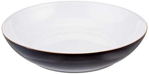 Denby Jet Stripes - Denby JET-052B/4 Jet Set of 4 Black Pasta Bowl Set, One size,