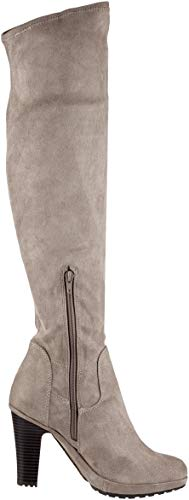 Women's Bugatti Taupe 4 Boots 11354e 1400 11 Ankle zw76dB4qw