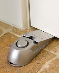 Image of the product Door Stop Security Alarm that is listed on the catalogue brand of Bell & Howell.