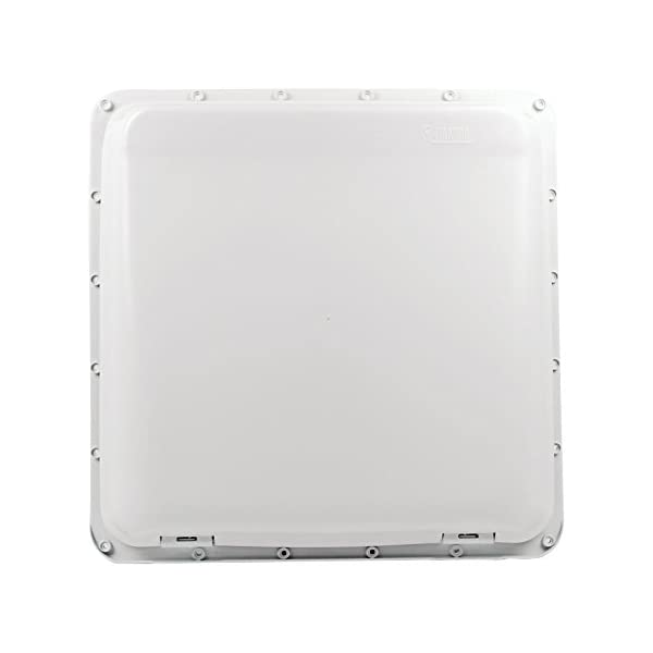 313p4KUnfhL Fiamma Turbo Vent Kurbeldachhaube Polar Control mit Thermostat 40 x 40 für Wohnwagen oder Wohnmobil