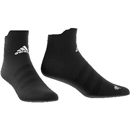 Da Calzini Adidas Alpha Cushioning Ankle Uomo Black Lightweight Skin white B007dq