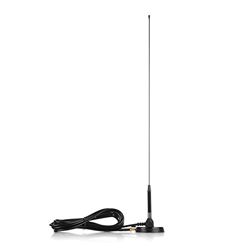 TNP Radio Antenna - SMA Female Whip VHF/UHF (144/430Mhz) High Gain Antenna for BaoFeng, Pofung, Kenwood, Wouxun, Yaesu Compatible Two-way Ham Radio Walkie Talkies (UT-72 19