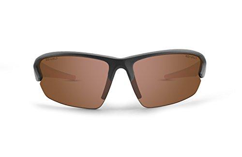 Epoch Eyewear Sunglasses - Epoch 4 - Grey Frame / Amber Lens ()