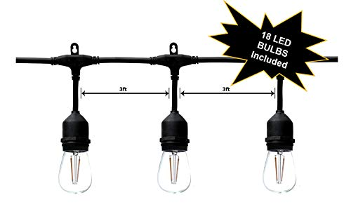 Outdoor Commercial 15 Light String Light Set in US - 7