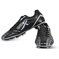 Vector X Speed Football Shoes (Black-Grey)