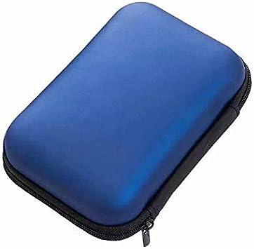 SUNXIN Angelo Caro(TM) Funda rígida con cremallera para disco duro portátil (2,5