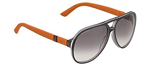 Gucci Sunglasses - 1065 / Frame: Gray White Brick Lens: Gray Mirror - 2014 Womens Glasses Frames
