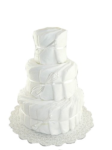 Diaper Cake Kit (Decorate It Yourself 3 Tier Plain Diaper Cake-60)