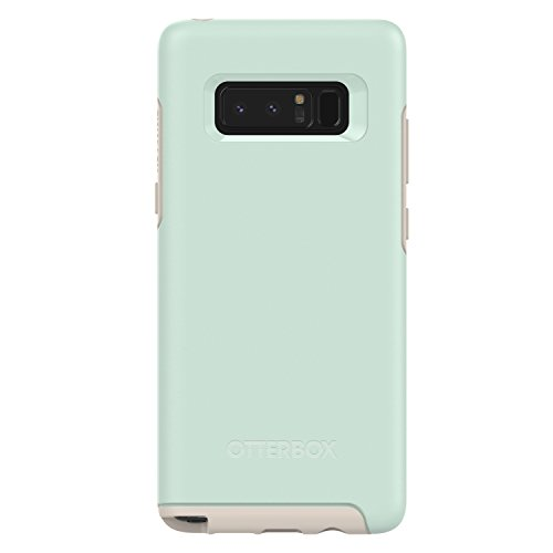 OtterBox SYMMETRY SERIES Case for Samsung Galaxy Note8 - Retail Packaging - MUTED WATERS (SURF SPRAY/SILIVER LINING)