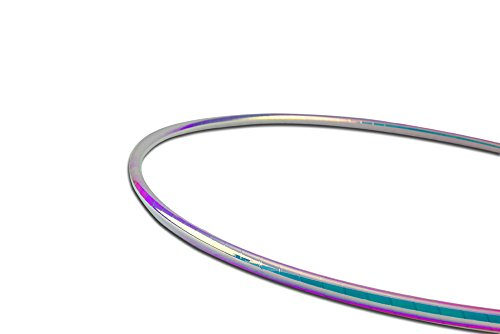 Color Changing Polypro Hula Hoop for Dance and Fitness (Unicorn, 32