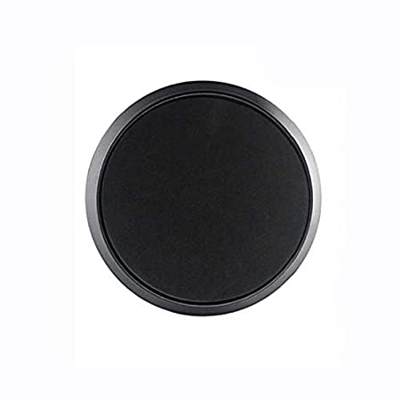 WICHEMI Coffee Knock Box Black Large Coffee Grind Knock Box Machine Espresso Dump Bin