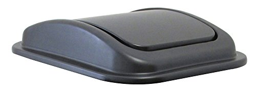 United Solutions WB0223 Swing Top Wastebasket Lid with Repla