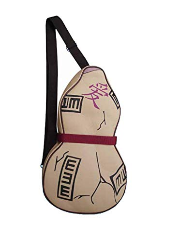 Gumstyle Naruto Gaara Anime Cosplay Costume Backpack Crossbody Bag Gourd Shape Artificial Leather 1