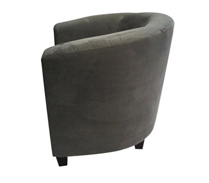 The Contour Chair - Charcoal Gray