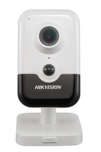 Hikvision 6 Megapixel H.265+ Wi-Fi PIR IR 2.8mm Fixed Lens Cube Network Indoor Camera DS-2CD2463G0-IW(2.8mm), with Built-in Micro SD/SDHC/SDXC Slot & Two Way Audio