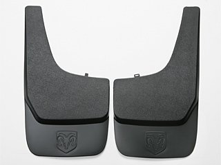 2001 TO 2011 DODGE FLAT MOLDED SPLASH GUARDS FRONT OR REAR MOPAR FACTORY (Flat Molded Splash Guards)