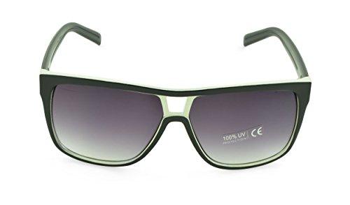 Belle Donne - Unisex Modern Bold Fashion UV Lens Sunglasses- - Lenses Oakley Discount